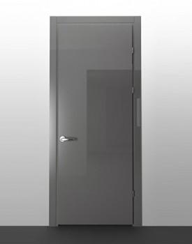 Глянцевая межкомнатная дверь Gris