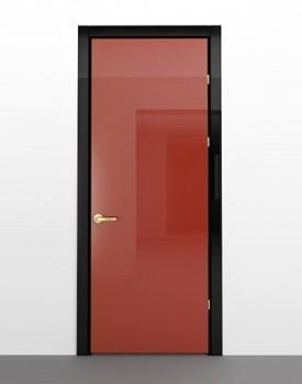 Глянцевая межкомнатная дверь Rojo