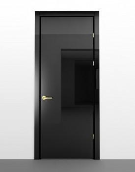 Глянцевая межкомнатная дверь Negro